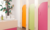Children Toilet Partitions
