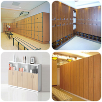 The New Material Of Lockers: Solid Phenolic Compact Laminte