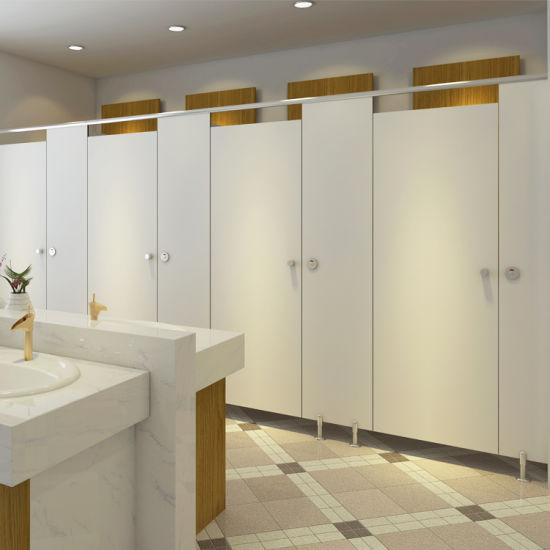 Compact Laminate Bathroom Dividers