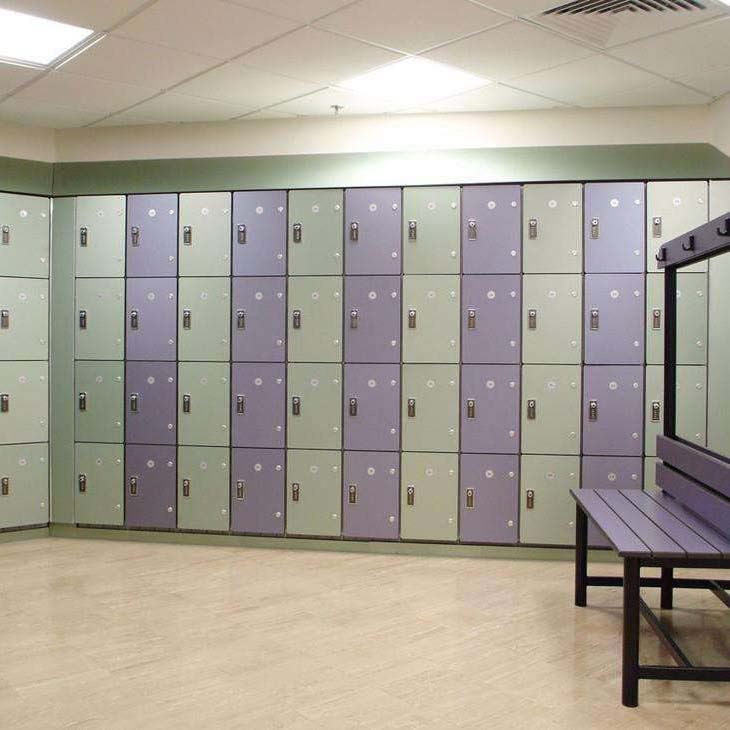 Waterproof Lockers For Kindergarten